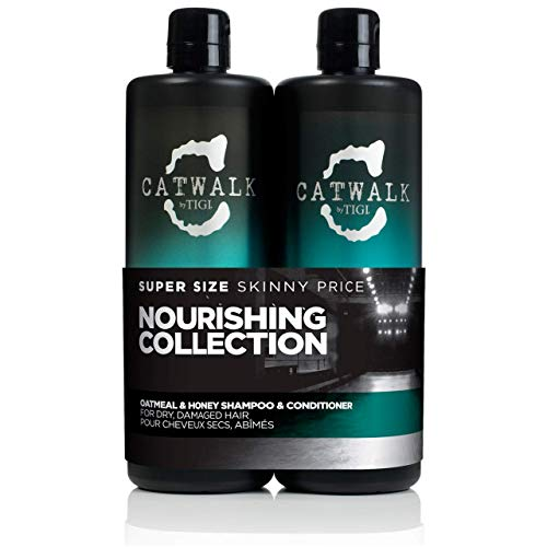 Catwalk by Tigi Oatmeal & Honey Shampoo und Conditioner, 750 ml, 2 Stück
