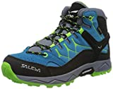 Salewa JR Alp Trainer Mid Gore-TEX Trekking-& Wanderstiefel, Danube/Fluo Green,...