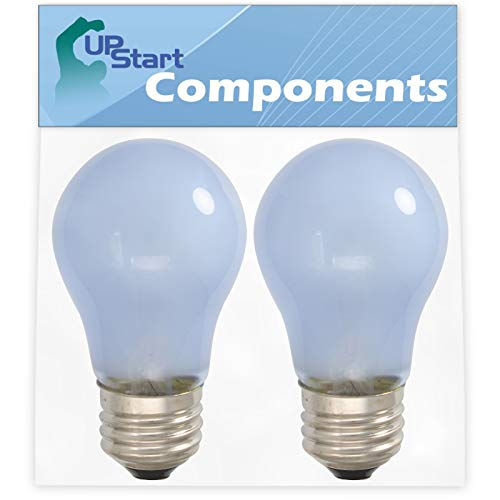 2-Pack 241555401 Refrigerator Light Bulb Replacement for Frigidaire FFUS2613LS2 Refrigerator - Compatible with Frigidaire 241555401 Light Bulb