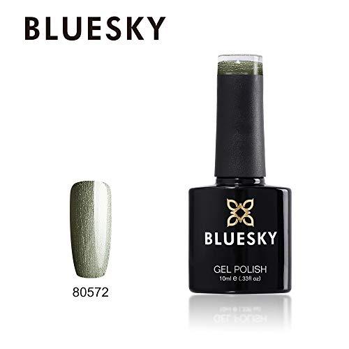 Bluesky UV/LED-Gel Nagellack, Olivgrün, 10 ml