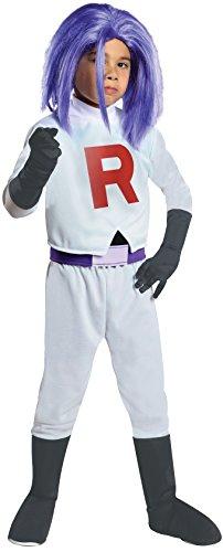 Pokemon Team Rocket James Costume, Large