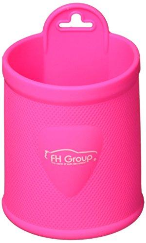 FH Group – Soporte de Vaso montado en ventilación/Tablero de Silicona, Rosa bebé, Magenta