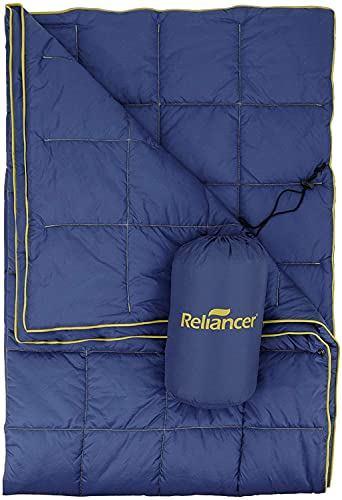 Puffy Camping Blanket 80' X 54' Outdoor Ultralight Backpacking Quilt Super Warm Hammock Top Quilt...