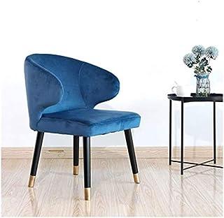 SMLZV Sillas de oficina KOKOF silla, silla de madera maciza, las piernas del metal de la silla de la habitación, Sillas de cocina, sillón, sillas Salón Salón de ocio, Bañera silla, con respaldo y apoy