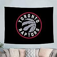 バスケットボールチームのロゴ壁掛けタペストリー壁アートリビングルームの家の装飾寝室の学生寮の装飾背景布光を送る 9-59 x 79 in