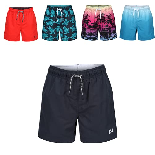 Ript Essentials Boy's Quick Dry UV 50 Sun Protection Peach Finish Swimming...