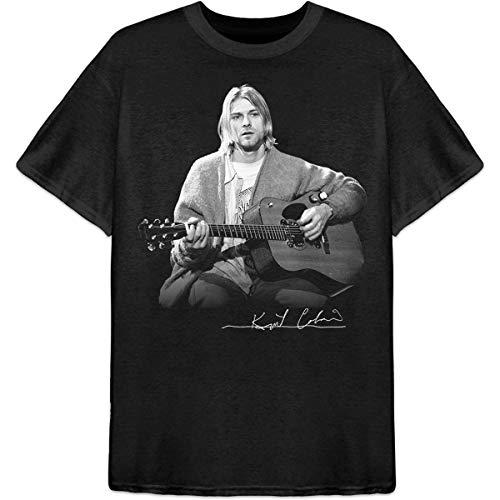 T-Shirt # M Unisex Black # Guitar Live Photo