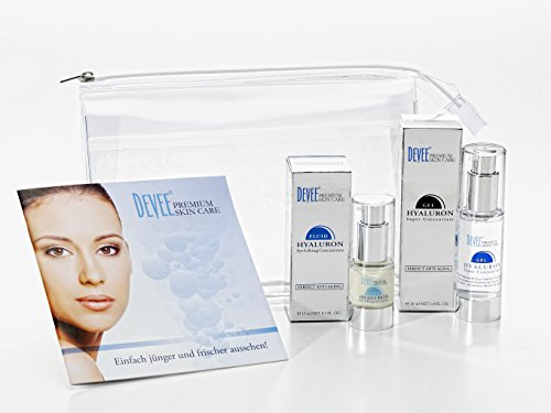 DEVEE Hyaluron VORTEILSPAKET: Gel Super Concentrate + Eye Lifting Concentrate + attraktive Geschenkverpackung