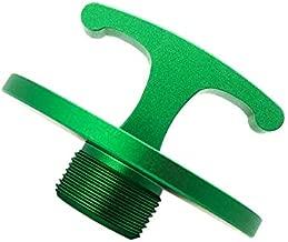 DOCA Aluminum Alloy-Oil Filter Plug Tool,Oil Filter Plug Cap Off Tool for Dodge Ram 05083285AA MO285 Turbo Diesel 5.9L 6.7L Cummins (Green) …