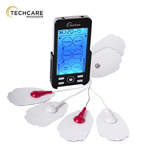 Tens Unit Plus 24 [Lifetime Warranty] Rechargeable Electronic Pulse Massager Machine Multi Mode Device with All Accessories [New Model]
