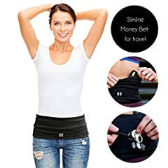 FREE ELASTICATED KEY FOB: The only running belt that includes an elasticated pocket key fob! HIGH QUALITY, SWEAT RESISTANT: Fits all smart phones including iPhone 8 plus, Samsung Galaxy. Keep your money and credit cards dry in our Sweat Resistant sea...