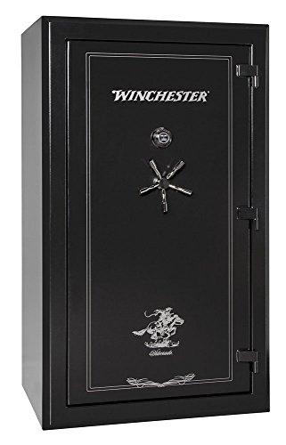 Winchester Silverado 51, 48 Gun Capacity Gun Safe- Black E-Lock
