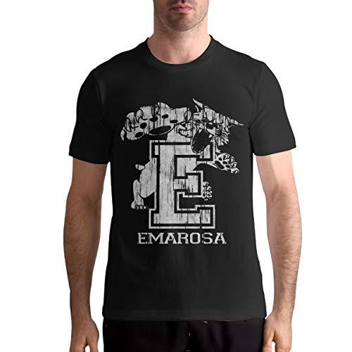 Emarosa Men's Fashion Tops Short Sleeve T-Shirt Crew Neck Cotton Tee M Black