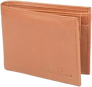 TOUGH HORN Men's Leather Wallet_THTAN00320