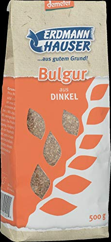 ErdmannHAUSER Getreideprod Bio ErdmannHAUSER demeter Bulgur aus Dinkel (2 x 500 gr)