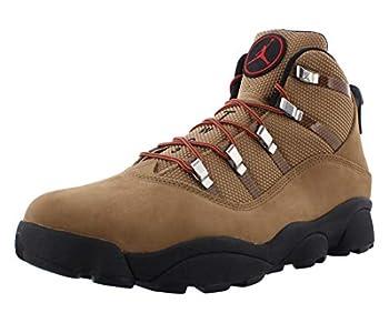 Jordan Mens Winterized 6 Rings Rocky Tan/Black-Varsity Red 414845 202 Size - 8