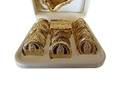 100% Customer Satisfaction Guarantee High quality product with exclusive designs Authentic product handmade with love by Catholic Mexicans for Angelitos de Mexico Perfect gift for any occasion; baptism, first communion, confirmation, wedding Dedicate...