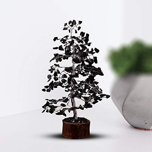 Crocon Black Tourmaline Gemstone Money Tree