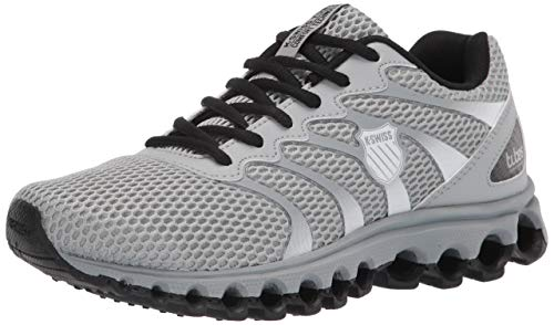 K-Swiss mens Tubes Scorch Training Shoe Sneaker, Gray/Black/White, 10 US