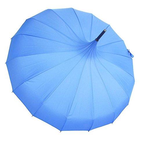 bpblgf nieuwe paraplu bruiloft parasol bruidsparaplu winddichte waterdichte pagode paraplu A, 02