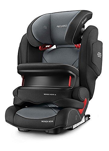 Recaro 6148.21502.66Seggiolino Auto Monza Nova IS Seatfix, Carbon nero