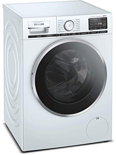 Siemens WM16XF40 iQ800 Waschmaschine / 9kg / A+++ / 1600 U/min / sensoFresh-Programm / WLAN-fähig mit Home Connect / varioSpeed Funktion / Nachlegefunktion / aquaStop