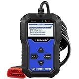 KONNWEI KW350 OBD2 Diagnosegerät Motor-Kontrollleuchte ABS SRS TPMS ESP SAS EPB Rückstellwerkzeug