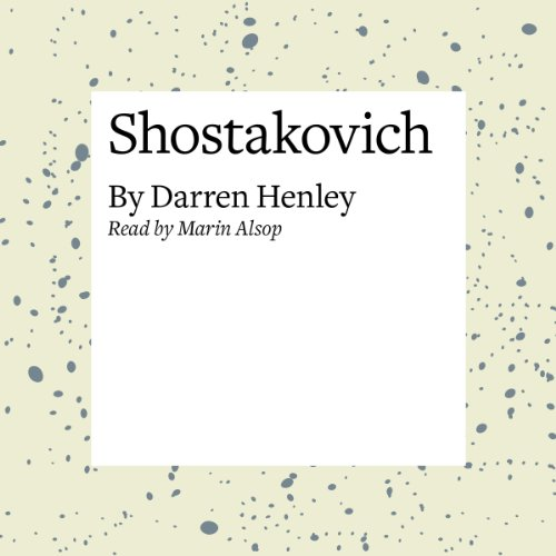 Shostakovich audiobook cover art