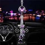 GGOII Auto Anhänger Diamant Dekoration Auto Hanging Ornament Herzförmige Kristall Automobile...