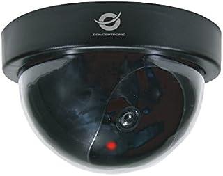 Conceptronic CFCAMD - cámaras de Seguridad Falsas (Dome, Interior, Negro, De plástico)
