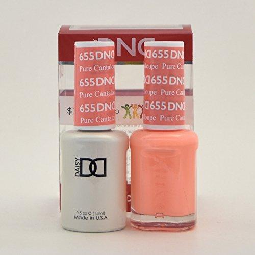 DND Daisy Soak Off Gel Polish + Matching Nail Polish Duo 655 Pure Cataloupe