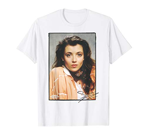 Ferris Bueller Sloane Peterson Signed Photo Tee, Men and Ladies Sizes