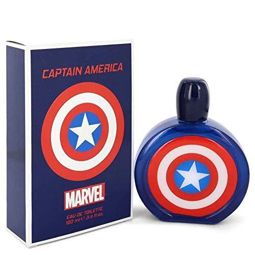 Marvel Captain america by marvel eau de toilette spray 3.4 oz 100 ml men