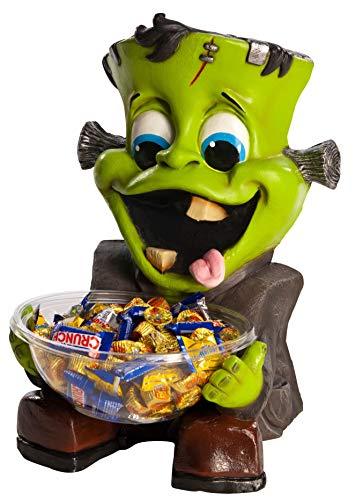 Rubie's Halloween Candy Bowl Holder, Frankenstein, One Size