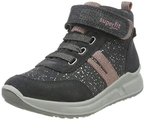 Superfit M dchen Merida Sneaker, Grau Rosa 2000, 30 EU