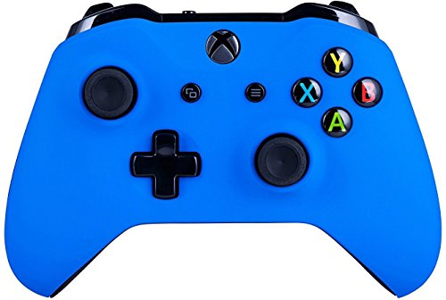 5000+ Modded Controller for Microsoft Xbox One - Custom Design That Works on All Shooter Games - Series X Compatible (Modded, Blue)