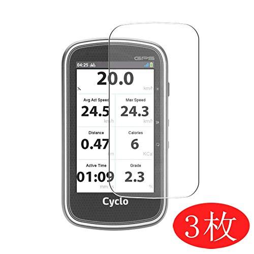 savvies 6-Pezzi Pellicola Protettiva Compatibile con Mitac Mio Cyclo 505 HC Protezione Schermo Trasparente