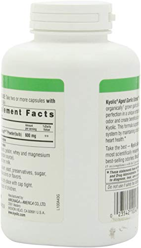 Kyolic Garlic Formula 100 Original Cardiovascular Formula (300 Capsules)