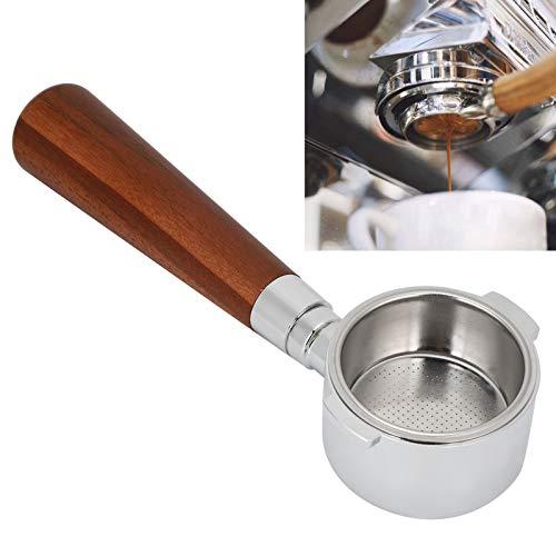 Atyhao 51mm Kaffeeboden Ohne Siebfilter Filtergriff Ersatzzubehör Passend für Ersatzteile für Espressomaschinen für Kaffeemaschinen(#3)