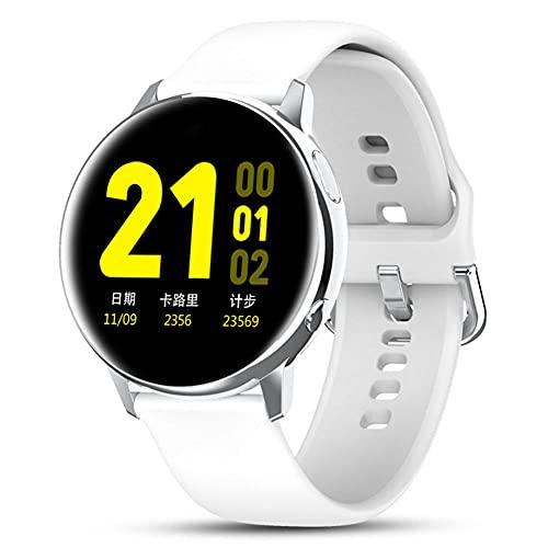Reloj inteligente HD de pantalla grande con reloj inteligente inteligente de carga inalámbrica compatible con iPhone Samsung y teléfonos Android-A-A