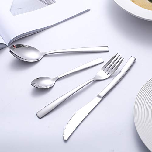 HOBO Silverware Set 24-Piece Stainless Steel Flatware Set