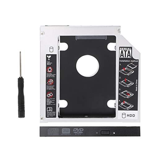 Jiamins High Quality12.7mm 2nd HDD Caddy SATA 3.0 2.5' SSD Case For Laptop ODD DVD/CD-ROM Optical Bay