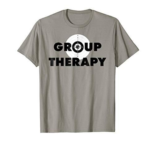 Gun Range Group Therapy Target Shooting T-Shirt T-Shirt