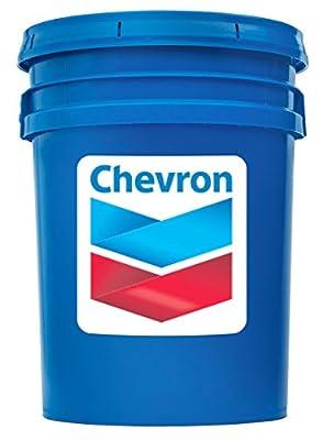 Chevron Rando HDZ ISO 46 - Multi Viscosity Hydraulic Oil Fluid, 5 Gallon Pail