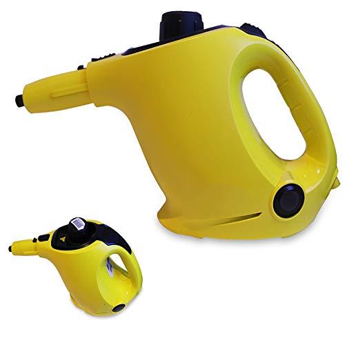 ZXL Stoomreiniger, Multi-Purpose Handheld Steamer met 6 Accessoires voor het verwijderen van vlekken, Tapijten, Gordijnen, Bed Bug Control, Auto Stoelen, Steamer Cleaners, 1100W