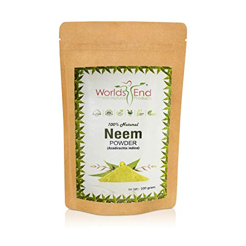 Pure & Chemical Free Neem Powder for Hair Loss – 100% Natural and Organic Anti-Dandruff Conditioning Powder 100g