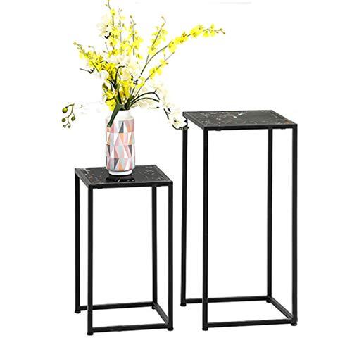 Sarazong Simple Fer Usine Stand Carré Cadre De Fleur Stand De Fleur Stand De Fleur Décoration Stand De Fleur Salon Combinaison,A