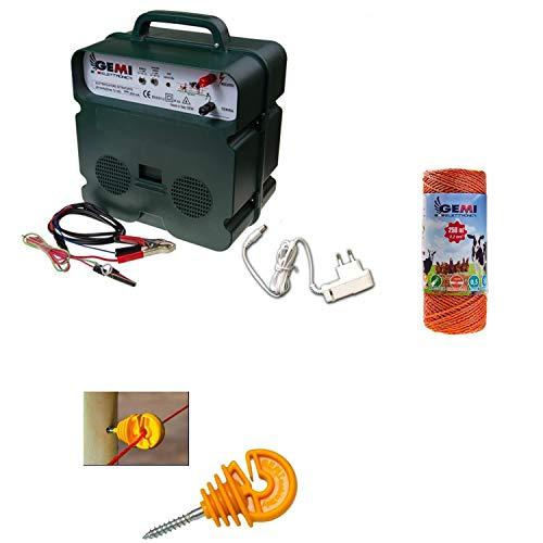 Cercas Eléctrica Pastor Eléctrico : 1 Electrificadores 12V / 220 V +...