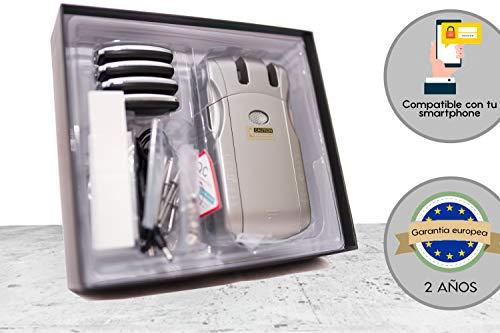Keyless Lock Wafu Cerradura electrónica inteligente.WF-010 Desbloqueo con mandos o móvil(conector USB no incluido en este pack).Cerrojo de seguridad antirrobo.UNICO GARANTIA 2 AÑOS Europeo