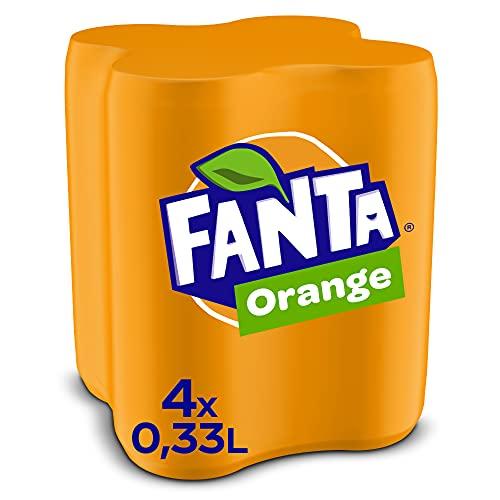 Fanta Orange EINWEG Dose, (4 x 330 ml)
